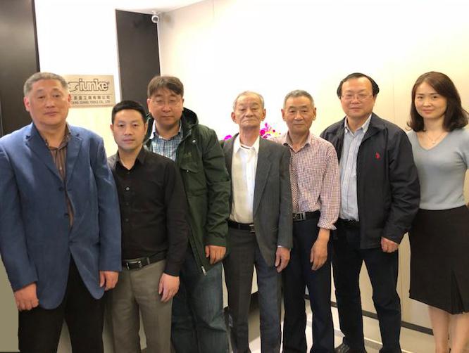 周律所长应邀访问参观浙江英盖工具有限公司